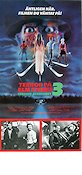 A Nightmare On Elm Street 3 1987 poster Robert Englund Wes Craven
