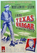 The Texas Rangers 1952 Movie poster George Montgomery
