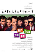 That Thing You Do 1996 poster Liv Tyler Tom Hanks