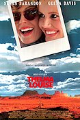 Thelma and Louise 1991 poster Susan Sarandon Ridley Scott
