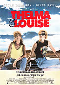 Thelma and Louise 1991 Movie poster Susan Sarandon Ridley Scott