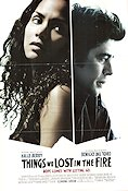 Things We Lost in the Fire 2007 Movie poster Halle Berry Susanne Bier