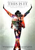 This Is It 2009 poster Michael Jackson