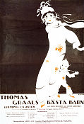 Thomas Graals bästa barn 1922 Movie poster Harald B Harald Mauritz Stiller