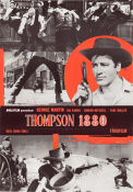 Thompson 1880 1967 Movie poster George Martin