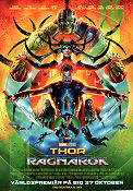 Thor Ragnarök 2017 poster Chris Hemsworth Taika Waititi