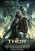 Thor The Dark World 2013 Movie poster Chris Hemsworth