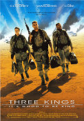 The Three Kings 1999 Movie poster George Clooney