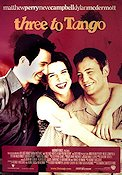 Three to Tango 1999 poster Matthew Perry