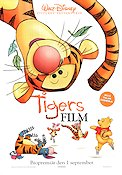Tigger the Movie 2000 Movie poster Nalle Puh