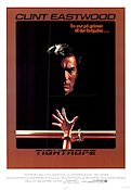 Tightrope 1984 Movie poster Clint Eastwood