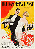 Service for Ladies 1927 poster Adolphe Menjou Harry d´Abbadie