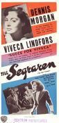 To the Victor 1948 Movie poster Viveca Lindfors