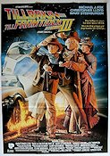 Back to the Future 3 1990 Movie poster Michael J Fox
