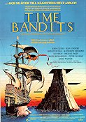 Time Bandits 1980 Movie poster John Cleese Terry Gilliam