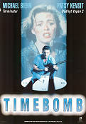 Timebomb 1991 Movie poster Michael Biehn
