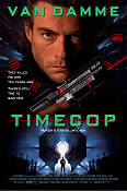 Timecop 1994 Movie poster Jean-Claude van Damme