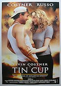 Tin Cup 1996 Movie poster Kevin Costner