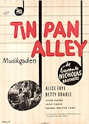 Tin Pan Alley 1940 Movie poster Alice Faye