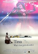 Tina What's Love Got to do with it 1995 Movie poster Angela Bassett