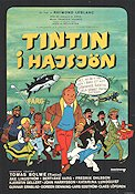Tintin and the Lake of Sharks 1973 Movie poster