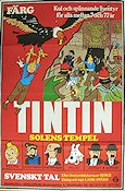 Tintin et le temple du soleil 1971 Movie poster