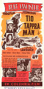 Ten Tall Men 1951 poster Burt Lancaster Willis Goldbeck