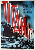Vintage Movie Poster Titanic 1943