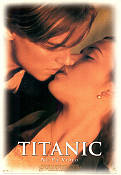 Titanic VHS 1997 Movie poster Leonardo di Caprio James Cameron