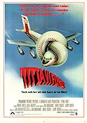 Airplane 1980 poster Robert Hays Jim Abrahams