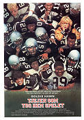 Wildcats 1985 Movie poster Goldie Hawn Michael Ritchie