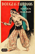 The Thief of Bagdad 1924 movie poster Douglas Fairbanks Raoul Walsh