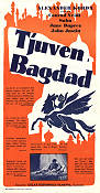 The Thief of Bagdad 1940 Movie poster Conrad Veidt Alexander Korda