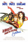 To Wong Foo 1995 Movie poster Wesley Snipes