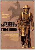 Tom Horn 1980 Movie poster Steve McQueen
