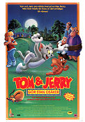 Tom and Jerry The Movie 1992 poster Tom and Jerry Phil Roman