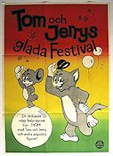 Tom och Jerrys glada festival 1962 Movie poster Tom and Jerry