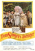 Tom Sawyer 1973 Movie poster Jodie Foster