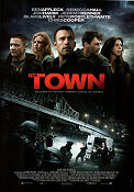 The Town 2010 poster Rebecca Hall Ben Affleck
