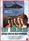 Toy Soldiers 1991 Movie poster Sean Astin
