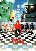 Toys 1992 Movie poster Robin Williams