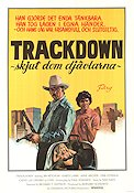 Trackdown 1977 Movie poster Jim Mitchum
