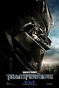 Transformers 2007 Movie poster Shia LaBeouf