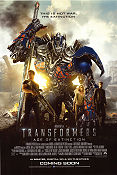 Transformers Age of Extinction 2014 poster Mark Wahlberg Michael Bay