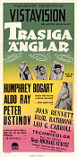 We're No Angels 1956 poster Humphrey Bogart Michael Curtiz