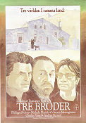 Tre bröder 1982 Movie poster Philippe Noiret Francesco Rosi