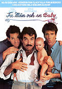 Three Men and a Baby 1987 Movie poster Tom Selleck
