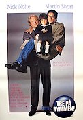 Three Fugitives 1989 Movie poster Nick Nolte