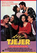 Tre tjejer 1988 poster Annabeth Gish