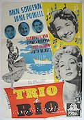 Nancy Goes to Rio 1950 poster Ann Sothern
